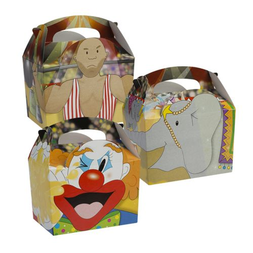 Circus Meal Boxes x 250