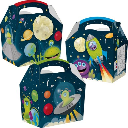Space Aliens Meal Boxes x 250