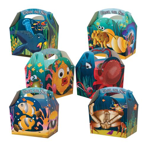 Under The Sea Meal Boxes x 250