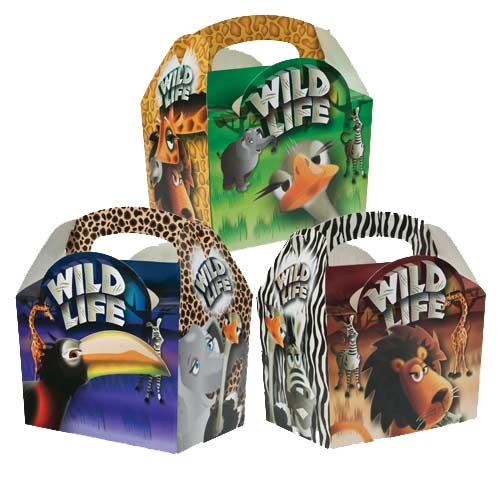 Wild Life Meal boxes x 250