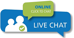 Use Live Chat to get in touch.
